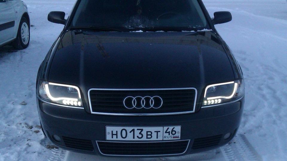 Audi a6 c5 фары светодиодные своими руками 34