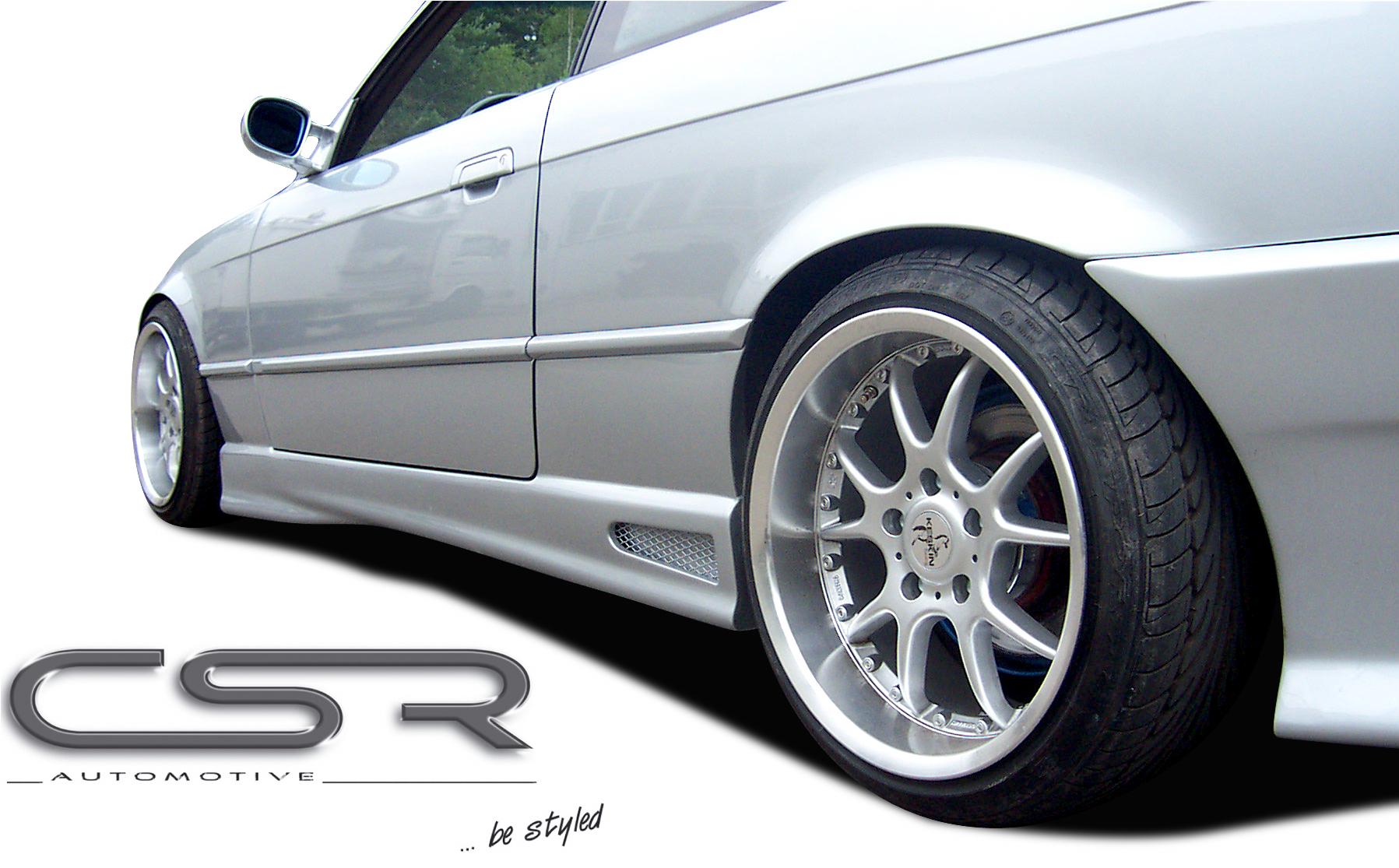 комплект накладок на пороги Csr Automotive для Bmw E39 95 03